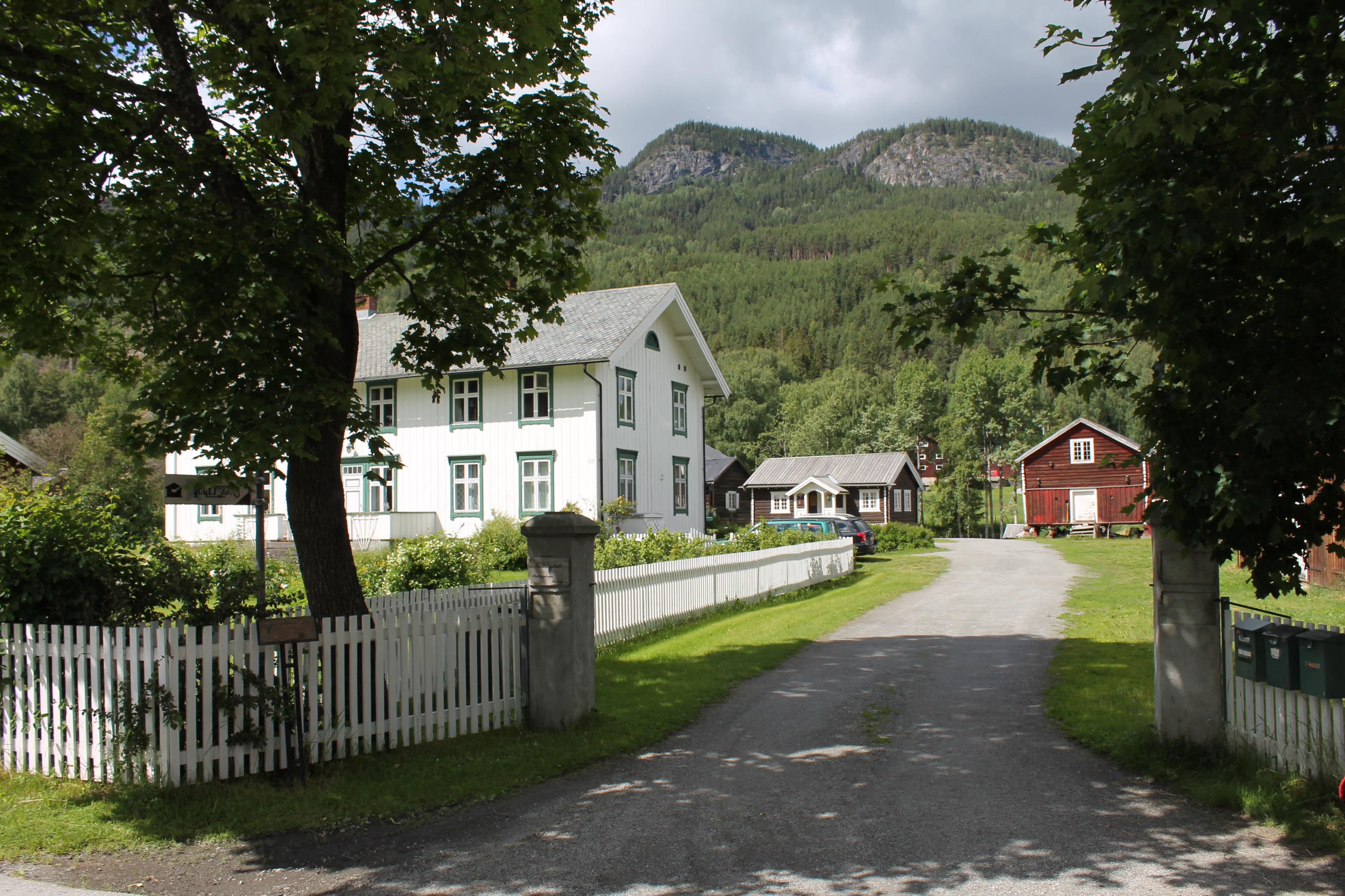 Tollefsgard i Gamle Nes Foto: Leif Olav Klype