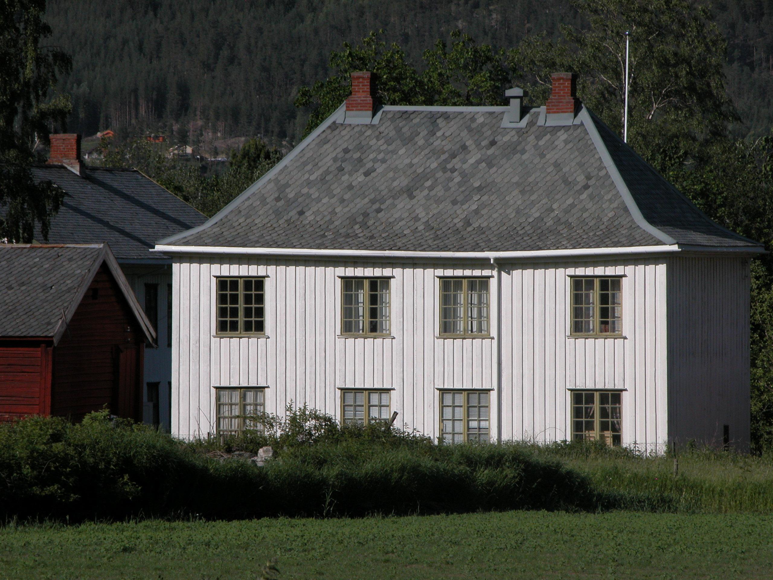 Kontorbygget i Skrivargarden. Foto: Linda Sofie Øye