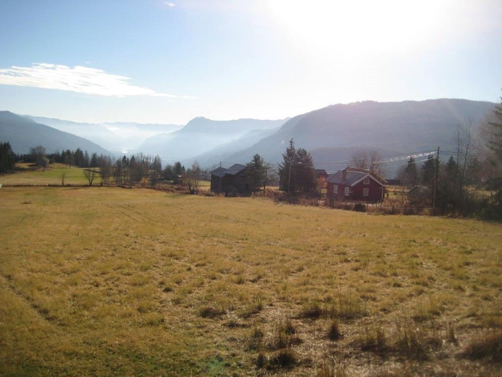 Utsikt fra Garnås. Foto: Buskerud fylkeskommune