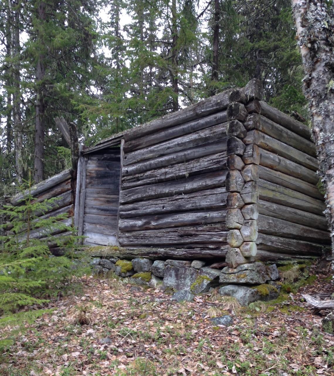 Nr. 7. Bilder Baklien skogshytte i Bergsmarka. 20. mai 2017. Foto Ole Engebret Haugo. Nr. 1